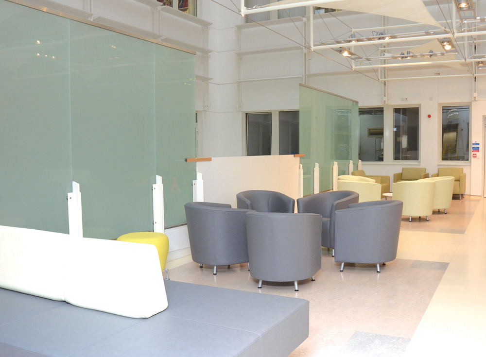 New Outpatient Waiting area and coffee shop